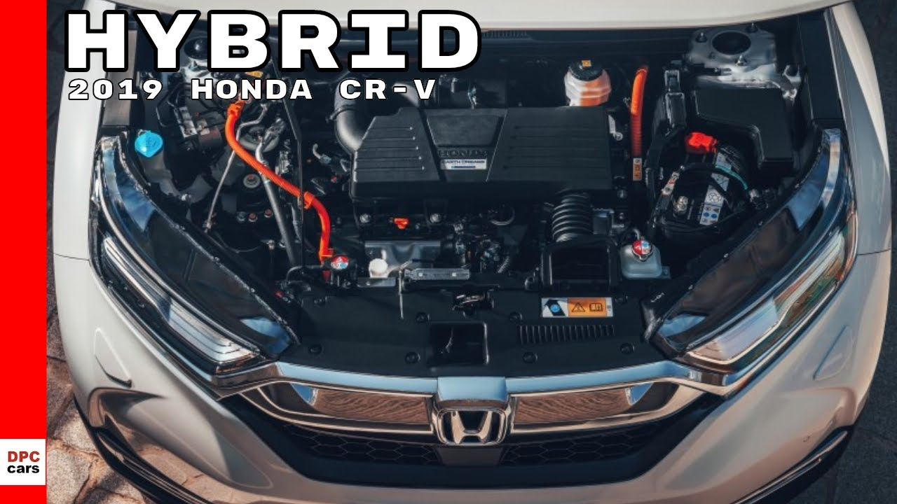 2019 Honda Cr V Hybrid Suv Youtube