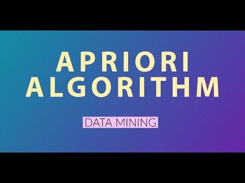 apriori algorithm (data mining)