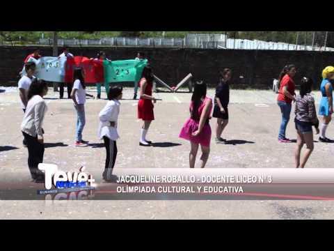 Olimpiada cultural en Liceo N°3 de Florida