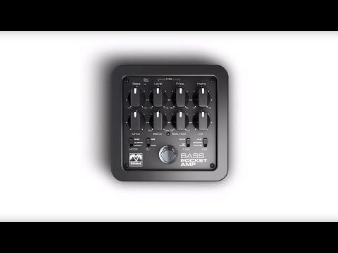 Palmer Germany at prolight + sound 2016 - POCKET AMP BASS - PORTABLE BASS PREAMP