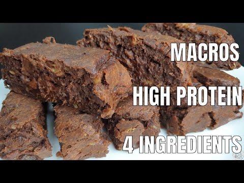 Fudge Brownies | HEALTHY AND HIGH PROTEIN VEGAN SNACK