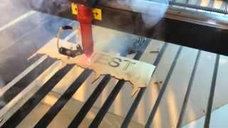 Лазерная резка фанеры(Пример лазерного раскроя фанеры. Laser cutting of wood/plywood., 2015-03-11T12:48:49.000Z)