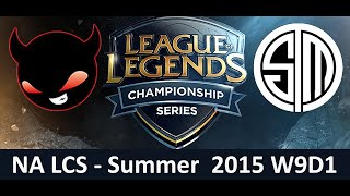 NME vs TSM NA LCS Championship series Summer Split 2015 W9D1 Enemy Esports vs Team SoloMid game High