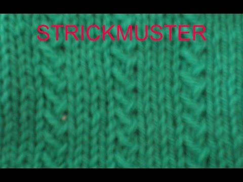 Strickmuster * Ohrwurm* Ideal Auch Fuer Anfaenger