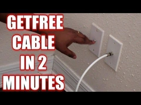 How To Get Free Cable|| Without A Box ||For All Channels In 2 Minutes |||