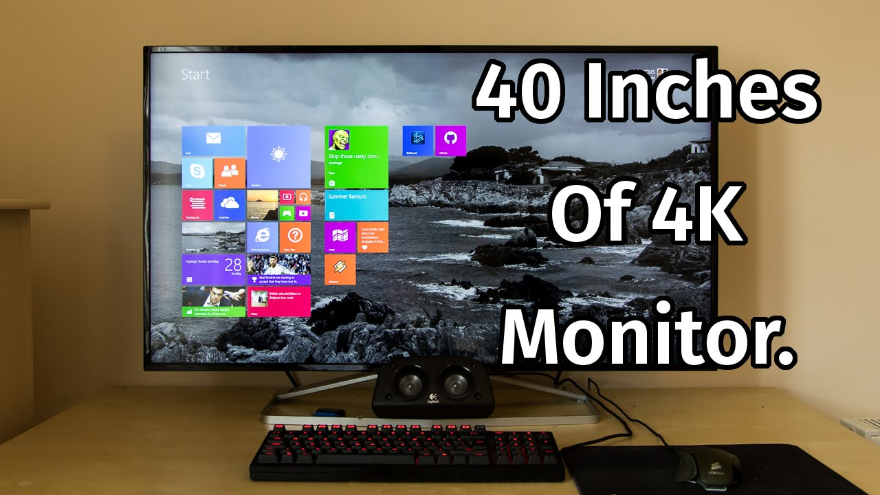 Philips 40 Inch 4K Monitor Review [BDM4065UC]