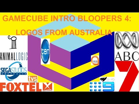 GameCube Intro Bloopers 4: Logos from Australia