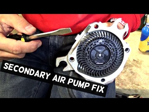 HOW TO FIX SECONDARY AIR PUMP | DEMONSTRATED ON BMW