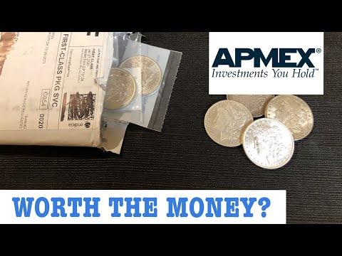 Buying BU Morgan Silver Dollars From Apmex