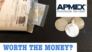 Buying BU Morgan Silver dollars from Apmex