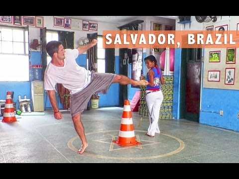 Salvador Street Food & Capoeira Lessons - Travel Deeper Brazil (Episode 1)
