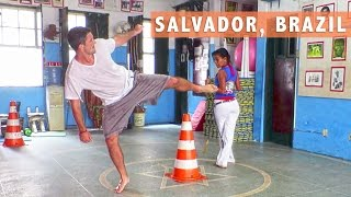 Salvador Street Food & Capoeira Lessons – Travel Deeper Brazil (Episode 1)