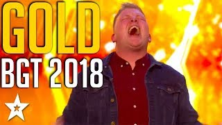Download TOP 5 GOLDEN BUZZERS on Britain's Got Talent 2018   Got Talent Global Mp3 and Videos