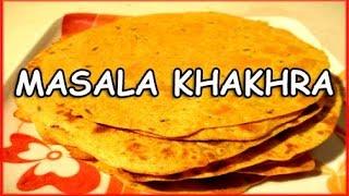 masala khakhra, khakra recipe by mangal