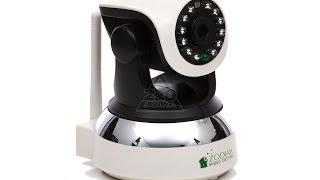 Обзор Камера видеонаблюдения ZODIAK с датчиком движения и открытия ZODIAK 909 Hone Safety