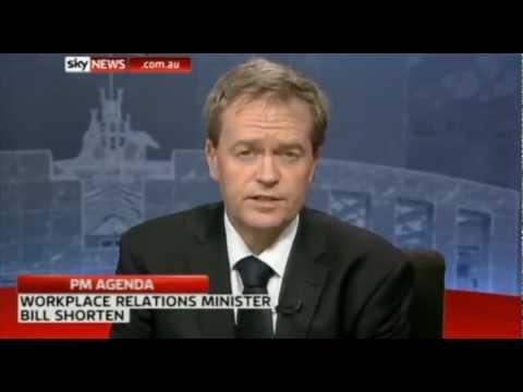 Yes, Minister Shorten