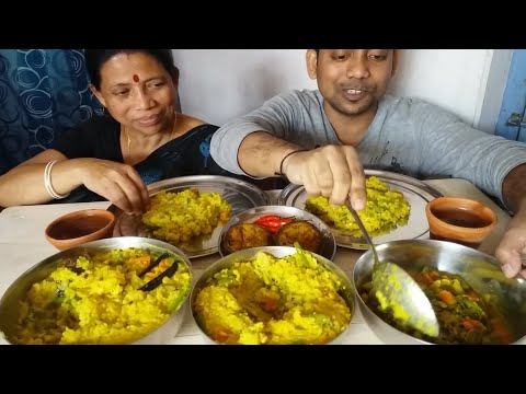 Food Khichdi Recipe With Eating Mukbang Best Healthy Food