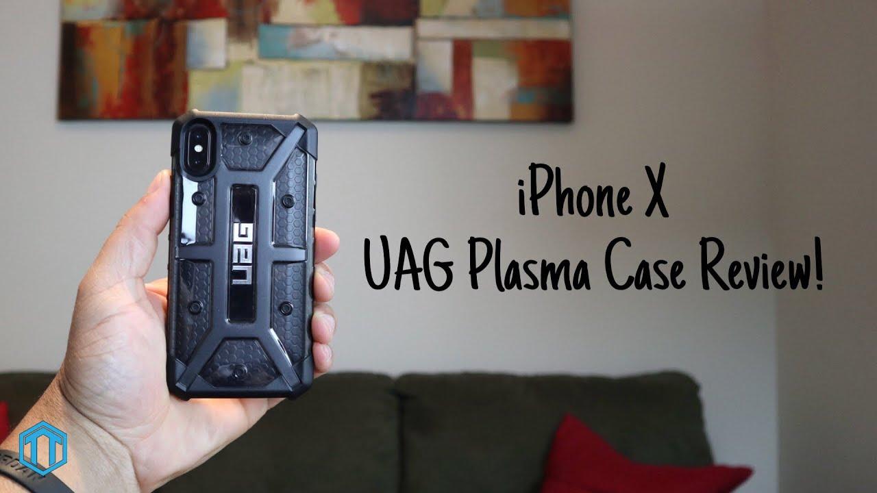 on sale a8ecd d0eca iPhone X UAG Plasma Case Review!