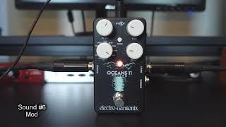 EHX Oceans 11 Reverb - 10 Ambient Tones