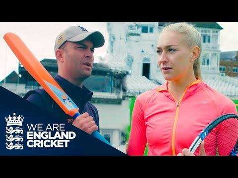 Tennis Vs Cricket: Stars From Each Sport Challenge Each Other Head To Head