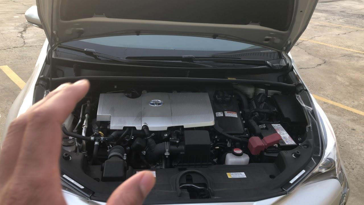Brake Fluid Container Location In Toyota Prius