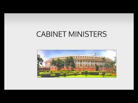 Ministers of India, Cabinet of India, Ministers of State India 2014