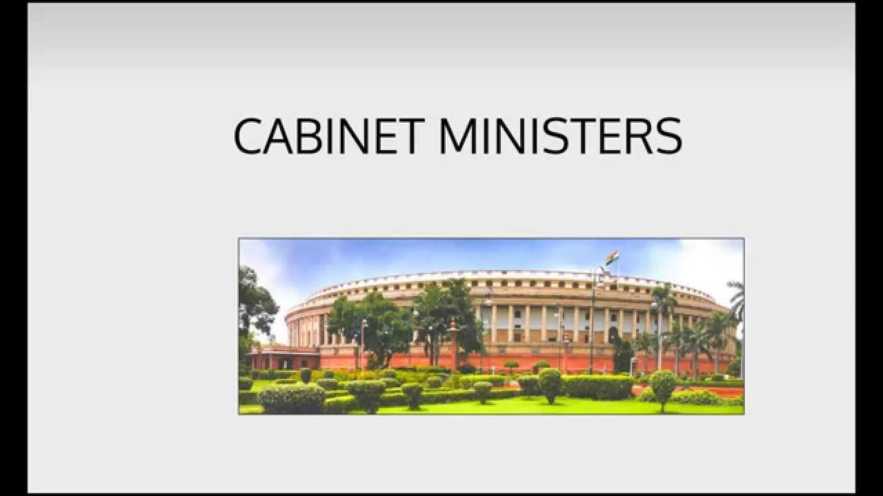 ministers india cabinet state