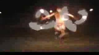 Samoan Fireknife Dance Clip