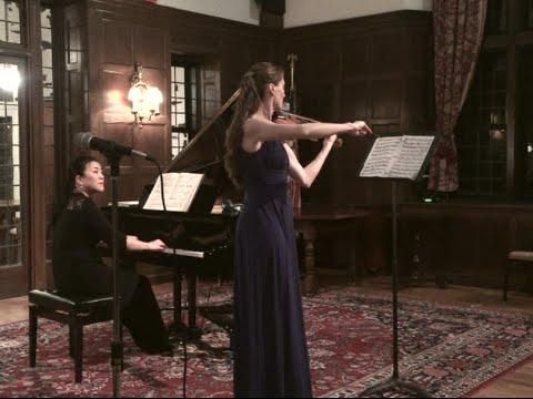 Beethoven Kreutzer Sonata mvt.2 ~ Claudia Schaer, Emi Kagawa