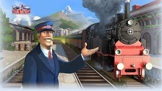 Браузерная игра Rail Nation Геймплей