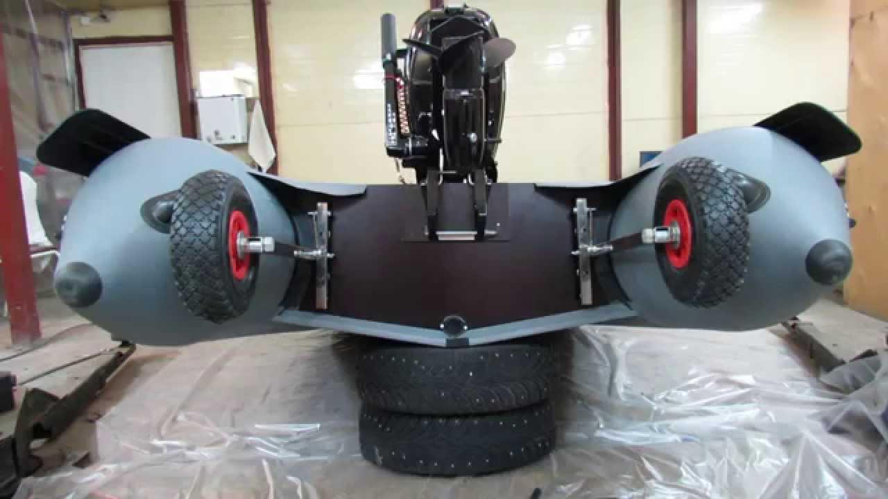 Изготовление транцевых колёс своими руками