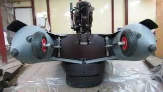 Установка транцевых колес на лодку пвх Angler335XL(Прошу прощения за не законченное видео,памяти оказалось мало,не успел произнести до новых встреч! http://www.electr..., 2014-04-03T09:31:16.000Z)