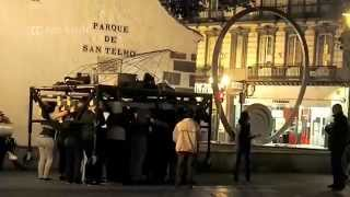 Human Tank Machine In Spain