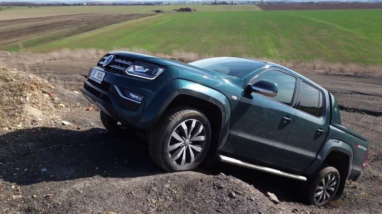 2019 Volkswagen Amarok V6 TDI 190 kW: off-road - YouTube