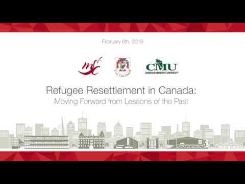 Refugee Resettlement in Canada: Moving Forward from Lessons of the Past