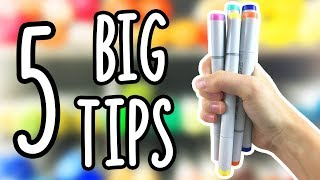 5 Ways to ORGANIZE Your MARKERS