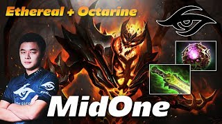 MidOne Shadow Fiend [Ethereal + Octarine] - Dota 2 Pro MMR Gameplay
