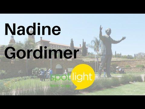 Nadine Gordimer   Practice English With Spotlight