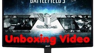 unboxing/Test Video Acer S240HLBD (24 Zoll) Slim LED Monitor