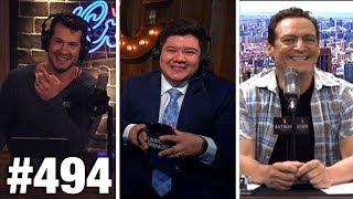 #494 DEBUNKING 'UNIVERSAL INCOME' SCAM!   Anthony Cumia Guests   Louder with Crowder