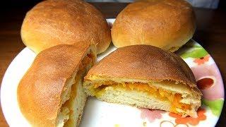 Пирожки с морковью (затраты 35 рублей). Воздушные и сочные. Супер рецепт