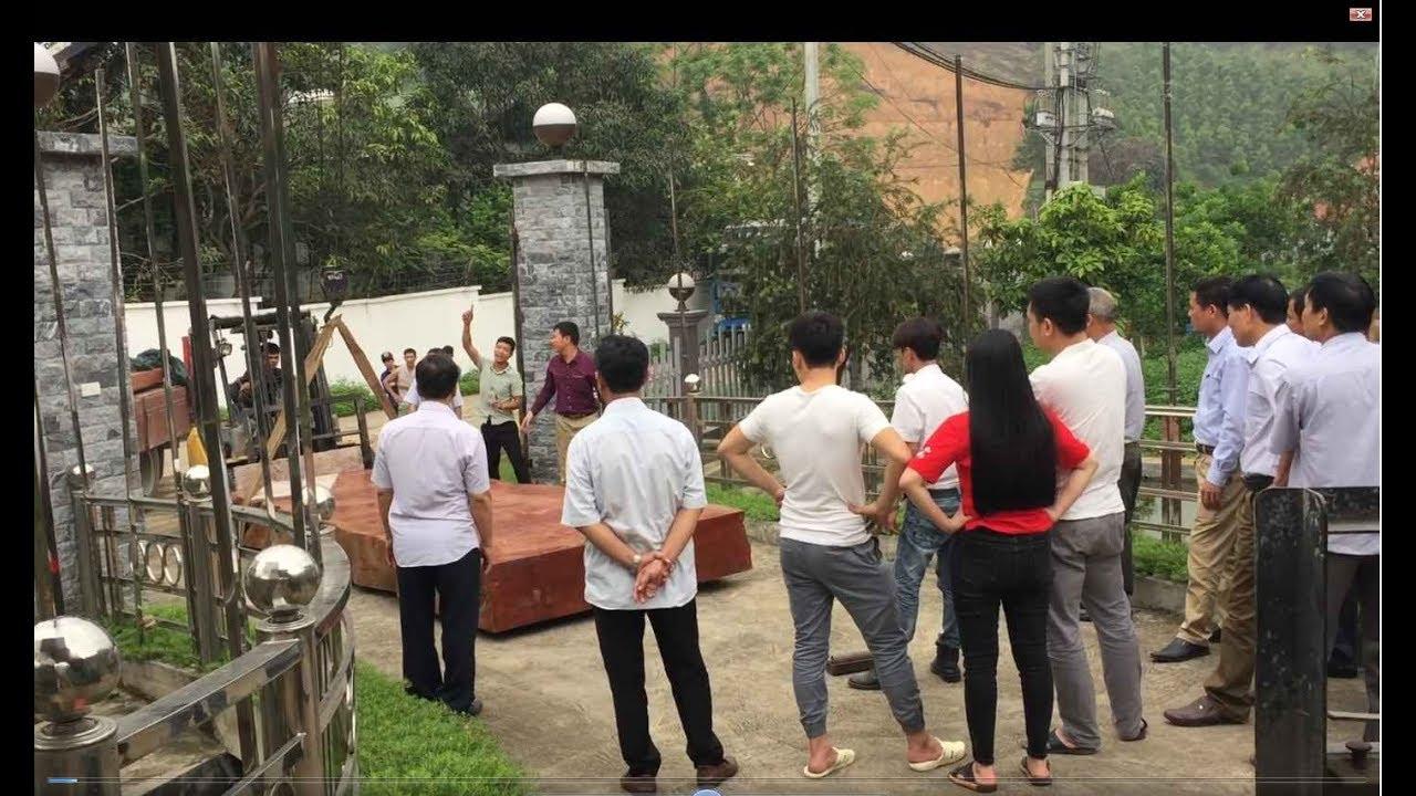HÀNG KHỦNG – Chuyển giao bộ Bàn ghế nguyên khối Gỗ Đinh Hương KH Bác Hùng , Phú Thọ – Gỗ Việt Bắc