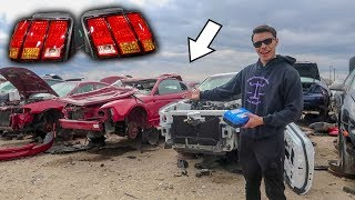 JUNKYARD FINDS FOR THE MUSTANG!