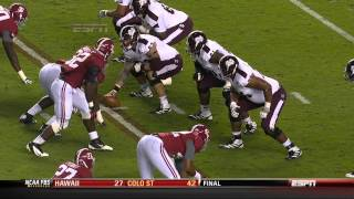 2012 #11 Mississippi St. vs. #1 Alabama (HD)