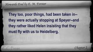 Part 1 - Howards End Audiobook by E. M. Forster (Chs 1-7)