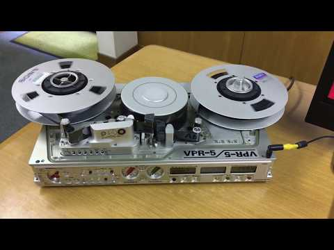*NEW UP!「Ampex/Nagra VPR-5」 NTSC 1-inch type-C portable VTR