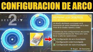 Destiny 2 - Configuración de Arco & Progreso del Catalizador de Brote | Guía Plano Exótico