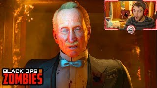 DEAD OF THE NIGHT BOSS FIGHT & ENDING CUTSCENE REACTION! (Black Ops 4 Zombies Dead of the Night)