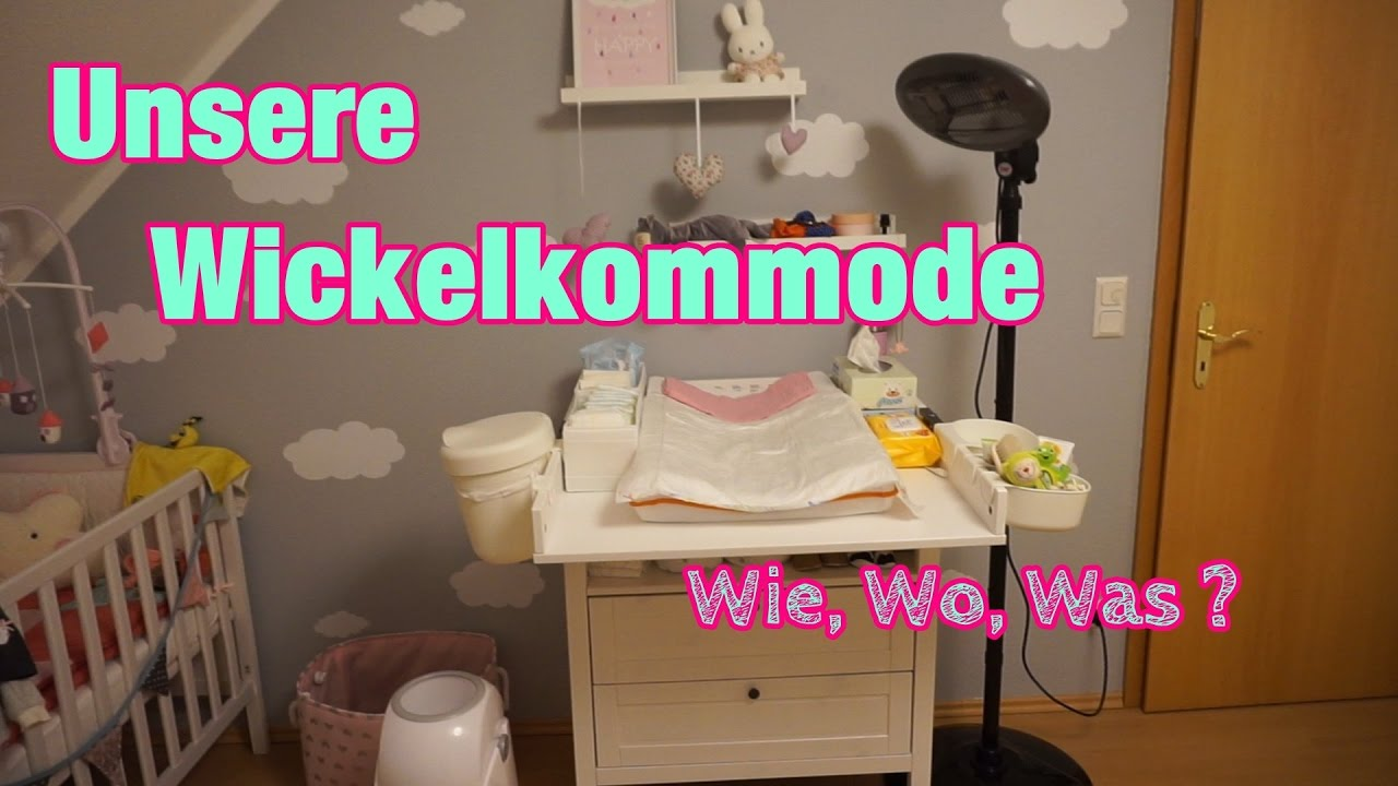 unsere wickelkommode sundvik von ikea wie wo was lisi schnisi youtube. Black Bedroom Furniture Sets. Home Design Ideas