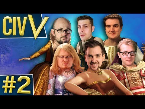 Civ V: Euro Rumble #2 - Super War